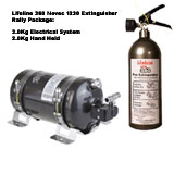 Lifeline 360 3.0Kg Electric Fire Extinguisher Rally Pack