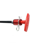 Lifeline 6Ft Red T Handle Locking Pull Cable