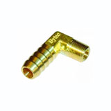 Sytec Brass 90 Degree Union 1/8nptf to 10mm (Facet 42774)