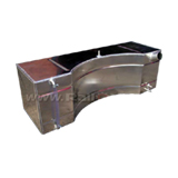 Ford Escort Mk1/2 Alloy Fuel Tank - 12 Gallon Baffled